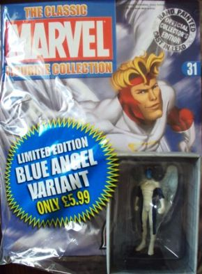 Classic Marvel Figurine Collection #031 Angel Blue Variant Eaglemoss Publications